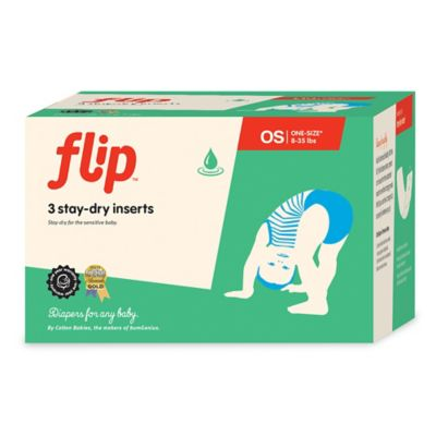 Flip™ 3-COunt Stay-Dry Diaper Inserts