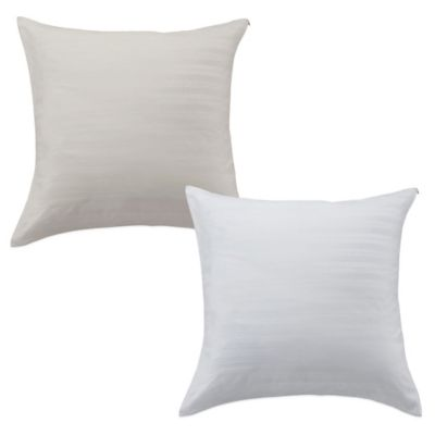 Bedding Essentials™ Cotton Dobby Euro Pillow Protector in Ivory