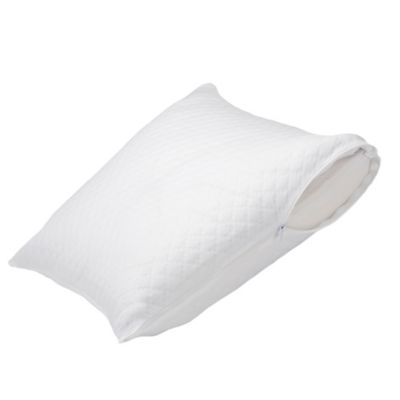 Healthy Nights™ Circular Knit Cool Finish Pillow Protector for Memory Foam Pillows
