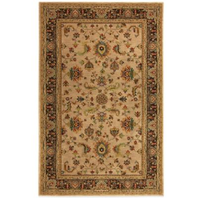 The Karastan Knightsen Brighton Station 2-Foot 4-Inch x 8-Foot 3-Inch Runner in Croissant