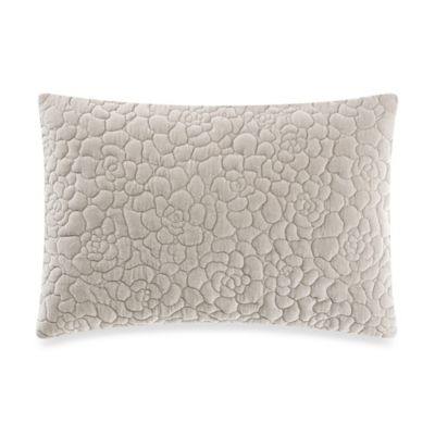 Vera Wang™ Roses Rose Quilted Breakfast Throw Pillow