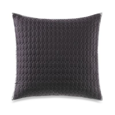 Vera Wang™ Jalli Vertical Diamond Square Throw Pillow