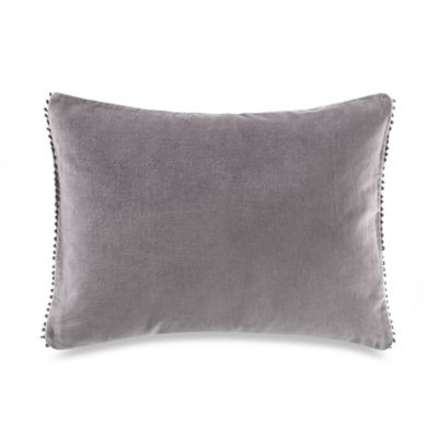 Vera Wang™ Night Blooms Velvet Picot Breakfast Throw Pillow