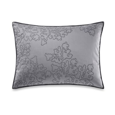 Vera Wang™ Botanical Seaweed Embroidery Breakfast Throw Pillow