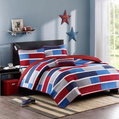 Bradley Twin/Twin XL Coverlet Set