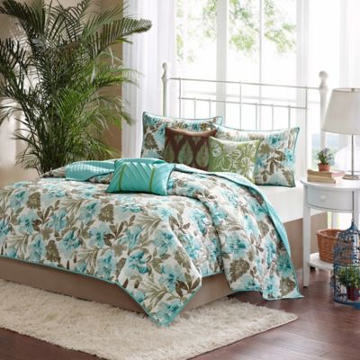 Madison Park Martinique Queen Coverlet Set