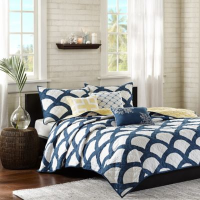 Madison Park Kokomo Queen Coverlet Set