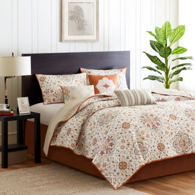 Madison Park Tissa Reversible Full/Queen Coverlet Set