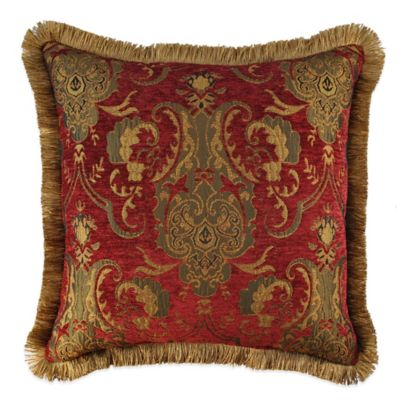 Brown Fringed Throw