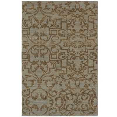 Karastan Sierra Mar French Quarter 5-Foot x 4-Foot Rug in Bluestone