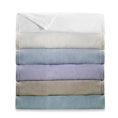 Wamsutta® Collection Cashmere Twin Soft Blanket in Ivory