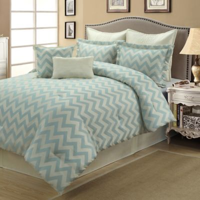 Kimber 8-Piece Queen Comforter Set