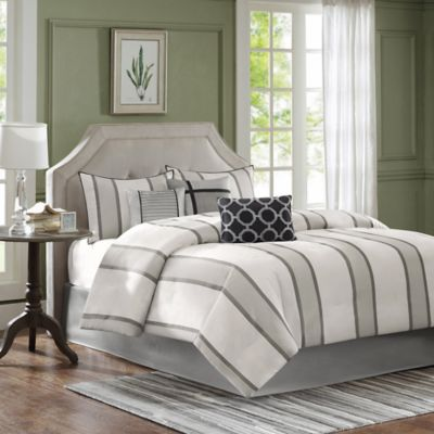 Madison Park Chad 7-Piece Queen Comforter Set