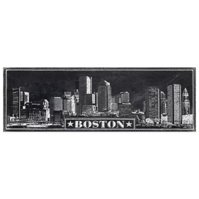 "Chalkboard ""Boston"" Wall Décor"