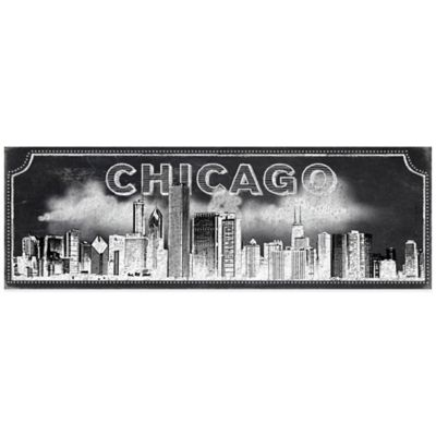 "Chalkboard ""Chicago"" Skyline Wall Décor"