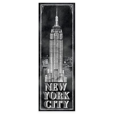 "Chalkboard ""New York"" Empire State Building Wall Décor"