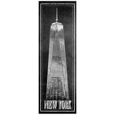 "Chalkboard ""New York"" Freedom Tower Wall Décor"