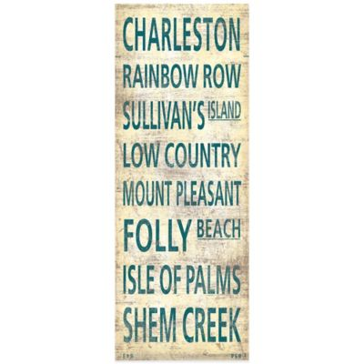 """Charleston"" Canvas Wall Art"