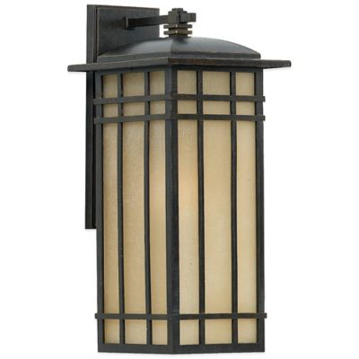 Quoizel Hillcrest Outdoor Medium Wall Lantern in Imperial Bronze with CFL Bulb