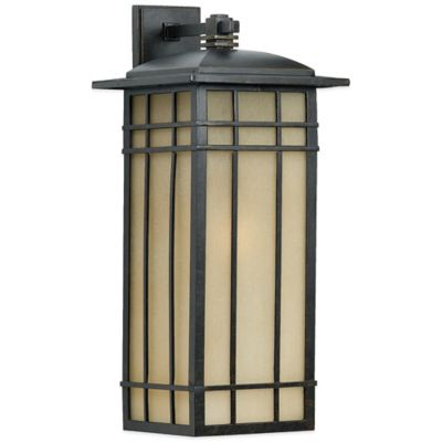 Quoizel Hillcrest Outdoor Wall Lantern in Imperial Bronze
