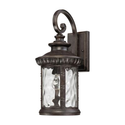 Quoizel Chimera Outdoor Medium Wall Lantern in Imperial Bronze
