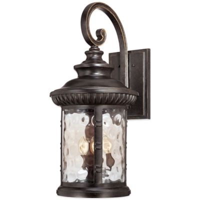 Quoizel Chimera Outdoor Small Wall Lantern in Imperial Bronze