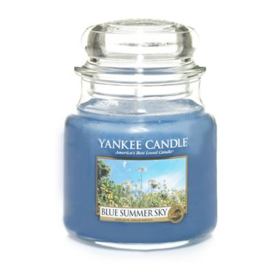 Yankee Candle® Blue Summer Sky Medium Classic Jar Candle