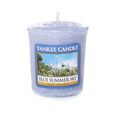 Yankee Candle® Samplers® Blue Summer Sky Wrapped Votive Candle