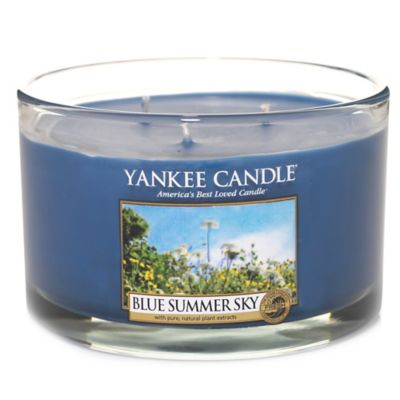 Yankee Candle® Blue Summer Sky 3-Wick Dish Candle