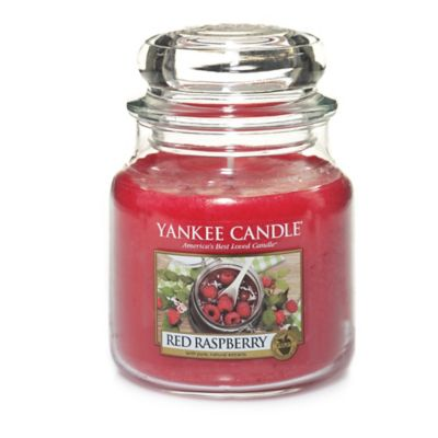 Red Yankee Candles Jar