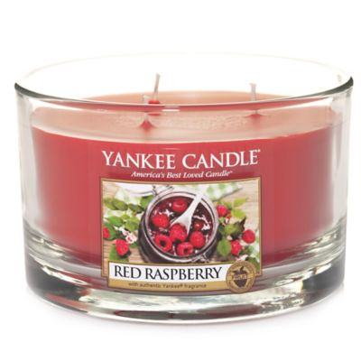 Yankee Candle® Red Raspberry™ 3-Wick Dish Candle