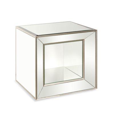 Bassett Mirror Company Minetta Mirrored Cube