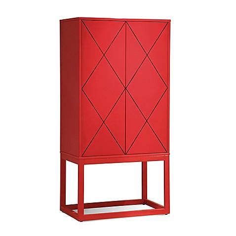 Buy Bassett Mirror Company Zoe Bar In Lipstick Red From