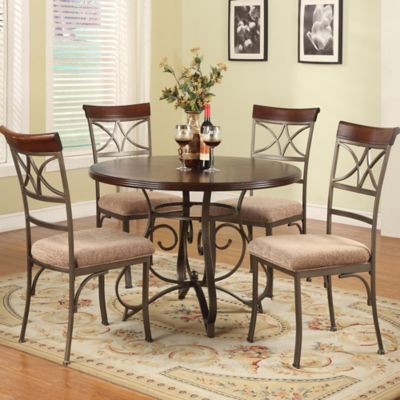 Powell Hamilton 5-Piece Dining Set