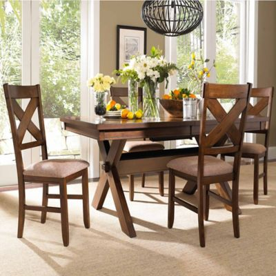 Powell Kraven 5-Piece Dining Set