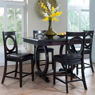 Brigham 5-Piece Counter Height Dining Set