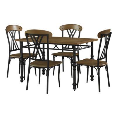 Powell Simon 5-Piece Dining Set
