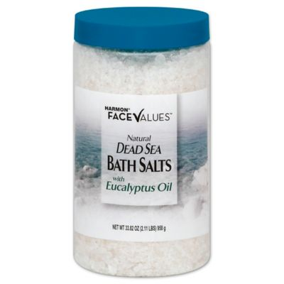 Harmon® Face Values™ 33.8 oz. Natural Dead Sea Bath Salts with Eucalyptus Oil