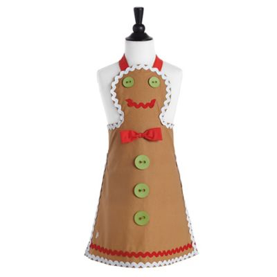 Jessie Steele Gingerbread Children's Bib Apron