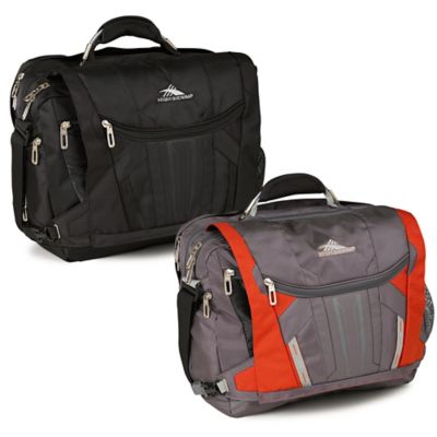 High Sierra® XBT TSA Laptop Messenger Bag in Black