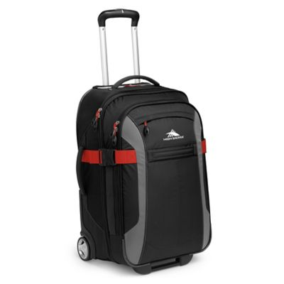 High Sierra® Sportour 22-Inch Carry-On Wheeled Upright in Black