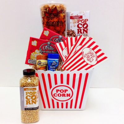Family Movie Night Popcorn Gift Set