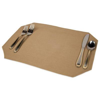 Riegel® Vintage Charm 4-Pack Placemats in Burlap