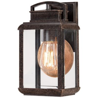 Quoizel Byron Outdoor Small Wall Lantern in Imperial Bronze