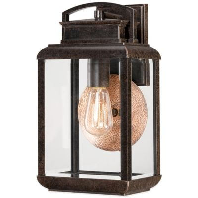 Quoizel Byron Outdoor Medium Wall Lantern in Imperial Bronze