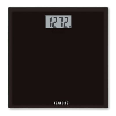 HoMedics® Glass Digital Bath Scale in Black
