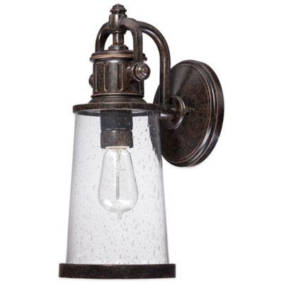 Quoizel Steadman Outdoor Medium Wall Lantern in Imperial Bronze