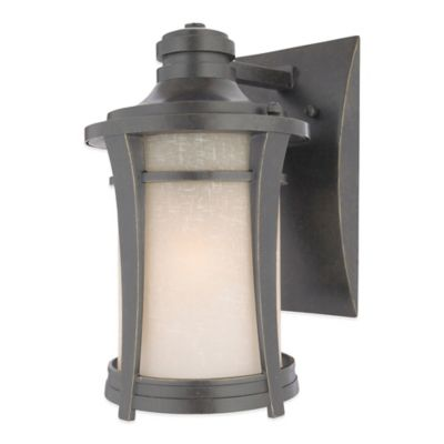 Quoizel Harmony Outdoor Small Wall Lantern in Imperial Bronze with CFL Bulb