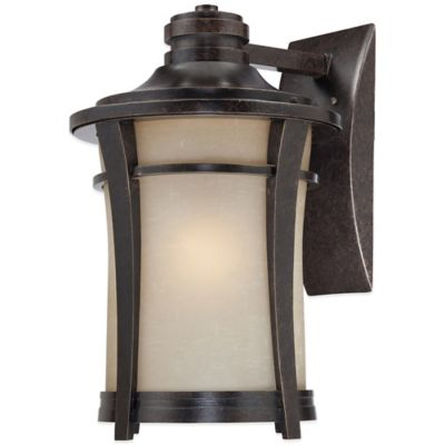 Quoizel Harmony Outdoor Large Wall Lantern in Imperial Bronze