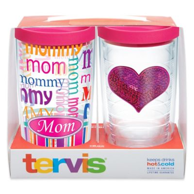 Tervis® Pink Heart Moms 16 oz. Tumbler Gift Set with Lids (Set of 2)